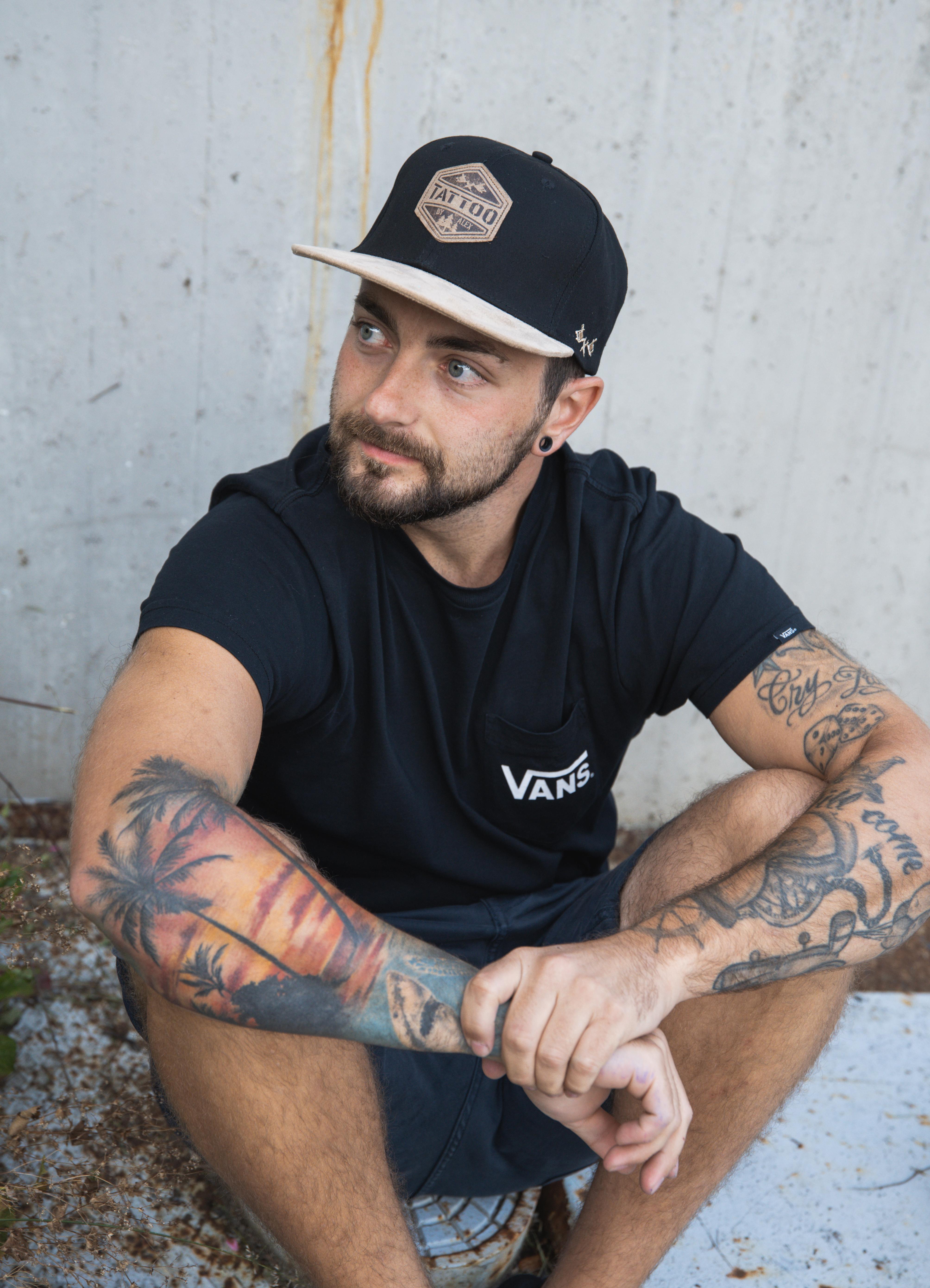 """Snapback Cap """"Tattoo by Alex"""""""